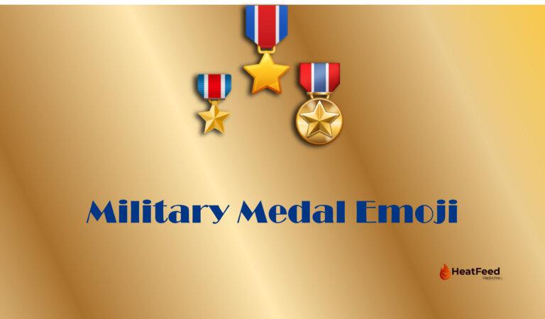 🎖️ Military Medal Emoji