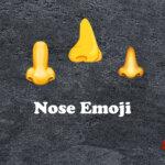 nose emoji