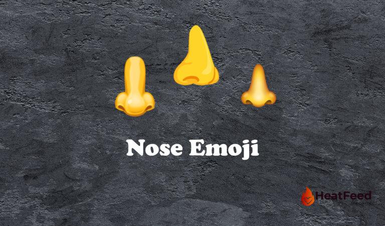 👃Nose Emoji