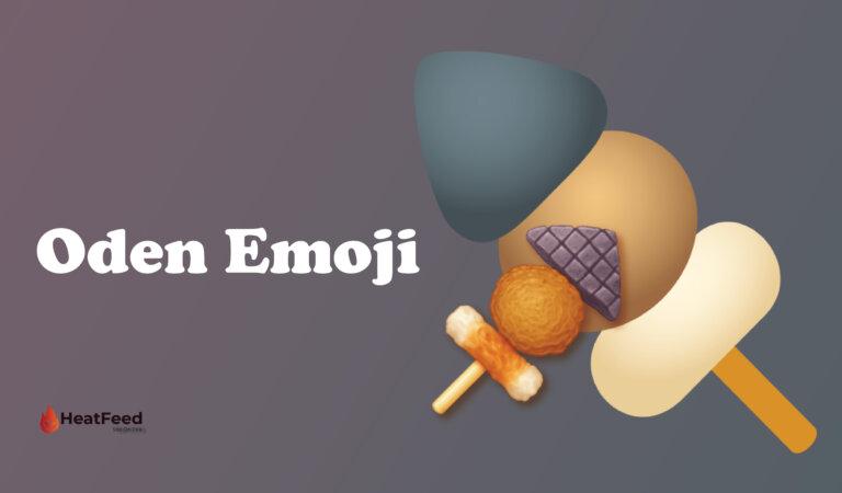 🍢 Oden Emoji