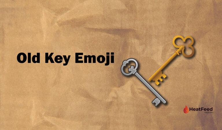 🗝️ Old Key Emoji
