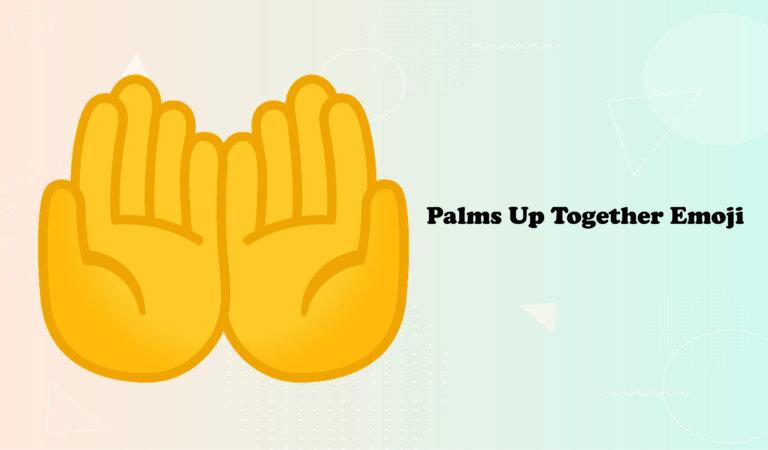 🤲Palms Up Together Emoji