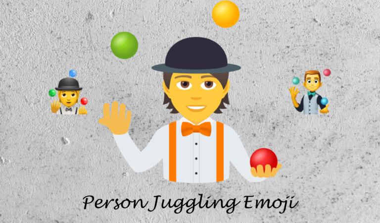 🤹 Person Juggling Emoji