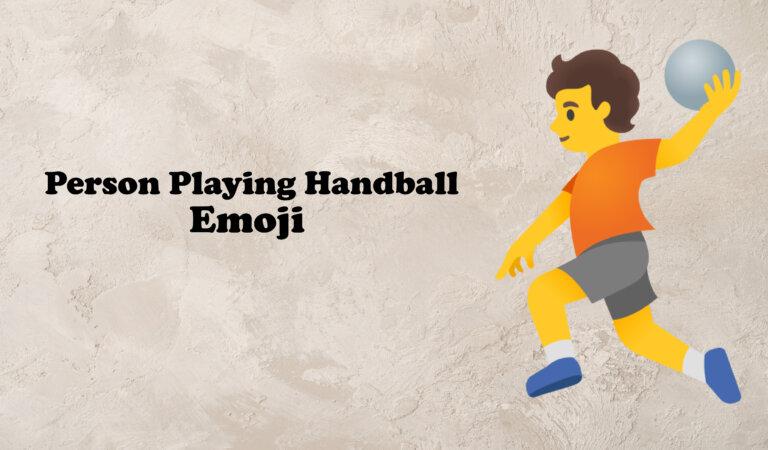 🤾 Person Playing Handball Emoji