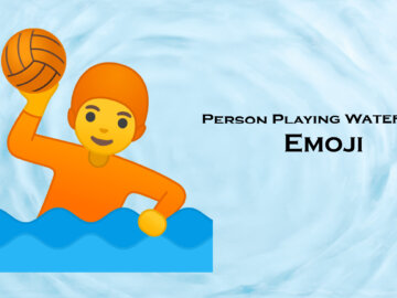 person playing water polo emoji