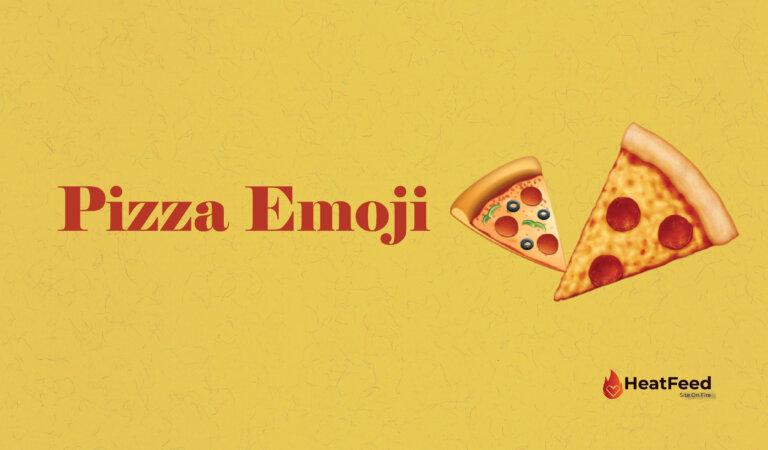 🍕 Pizza Emoji