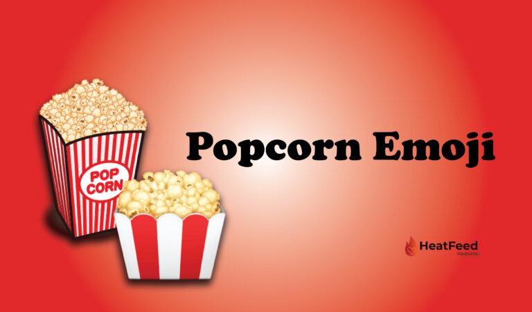 🍿 Popcorn Emoji