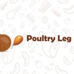 poultry leg emoji