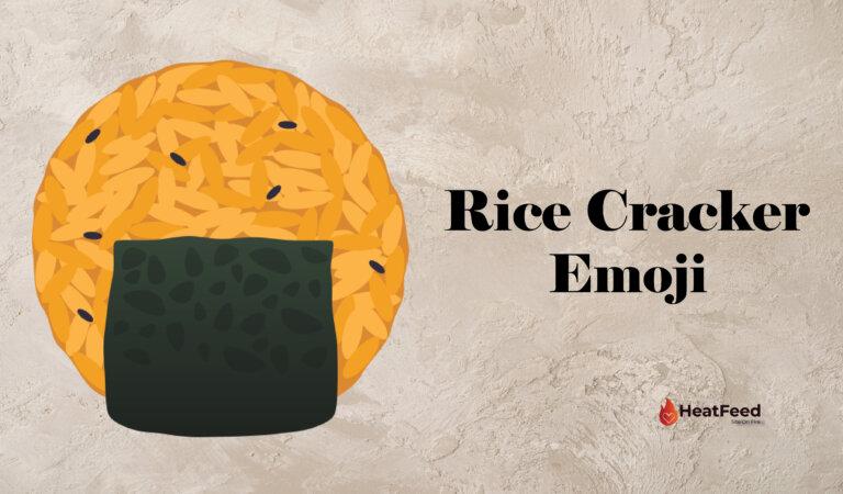 🍘 Rice Cracker Emoji