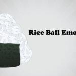 rice ball emoji