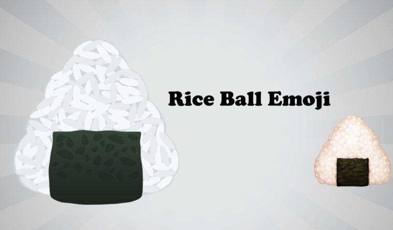 🍙 Rice Ball Emoji