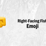 right facing fist emoji