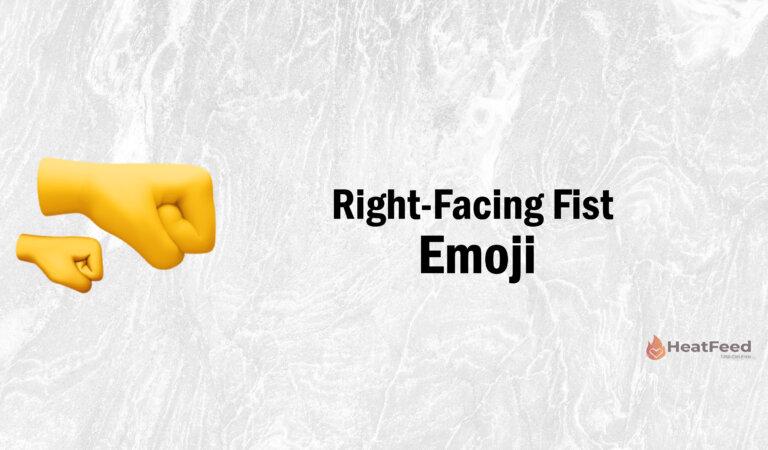 🤜Right-Facing Fist Emoji