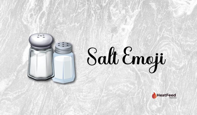 🧂 Salt Emoji
