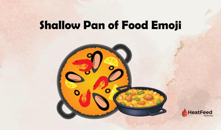 🥘 Shallow Pan Of Food Emoji