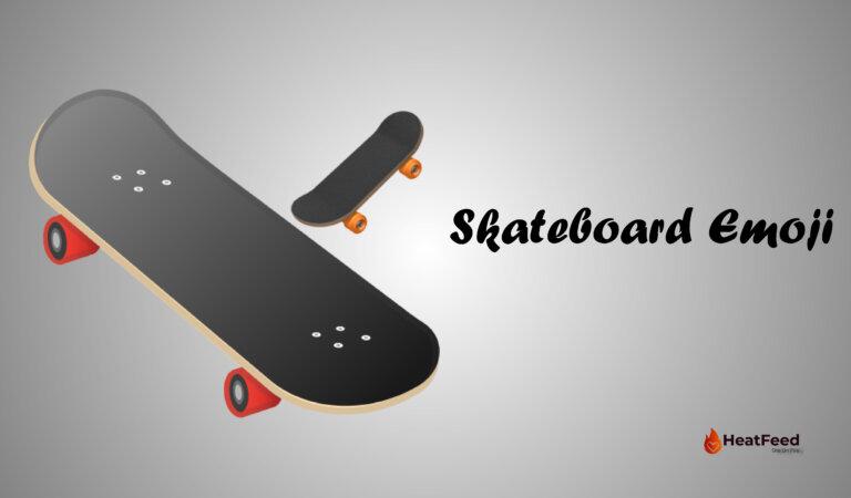 🛹 Skateboard Emoji