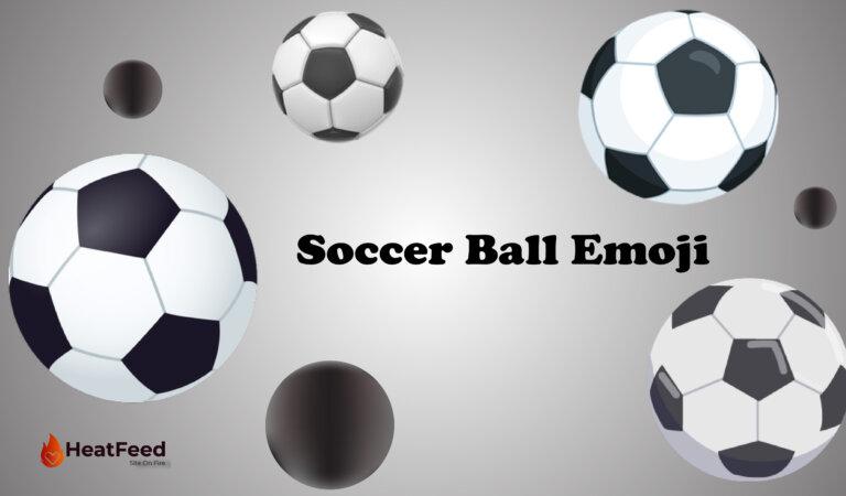 ⚽ Soccer Ball Emoji