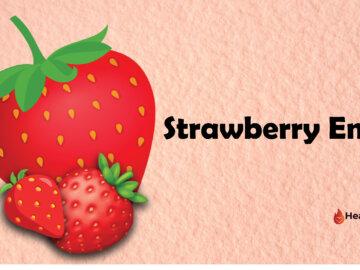 strawberry emoji
