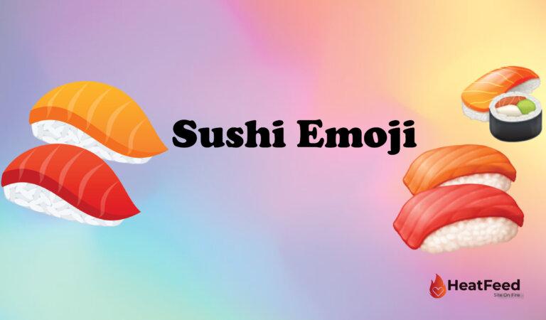 🍣 Sushi Emoji