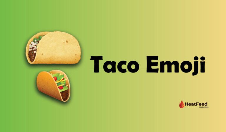 🌮 Taco Emoji