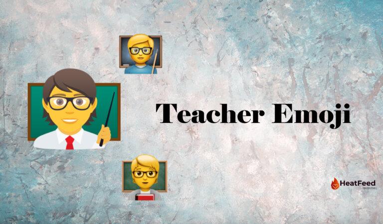 🧑🏫 Teacher Emoji
