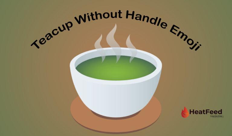 🍵 Teacup Without Handle Emoji