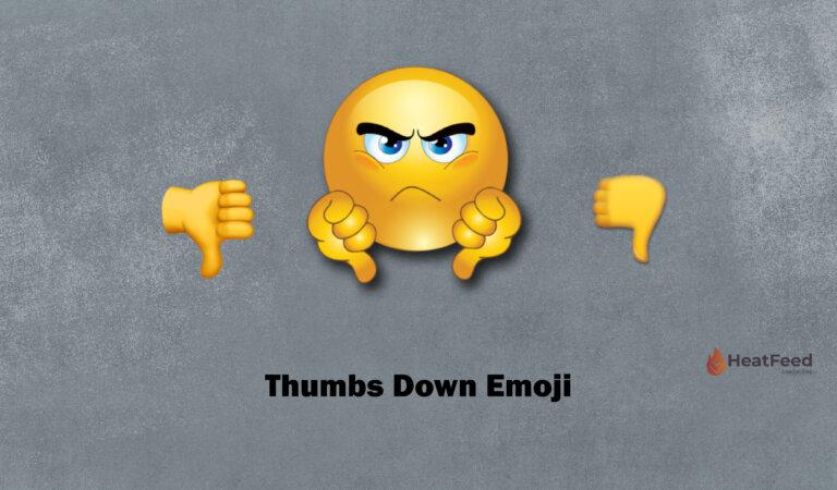 👎Thumbs Down Emoji