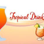 tropical drink emoji