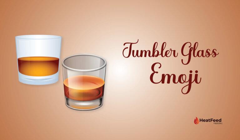 🥃 Tumbler Glass Emoji