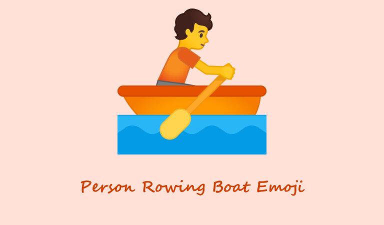 🚣 Person Rowing Boat Emoji