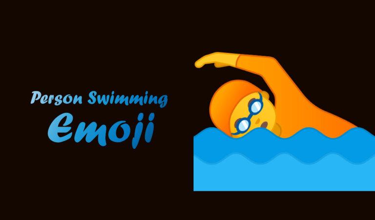 🏊 Person Swimming Emoji