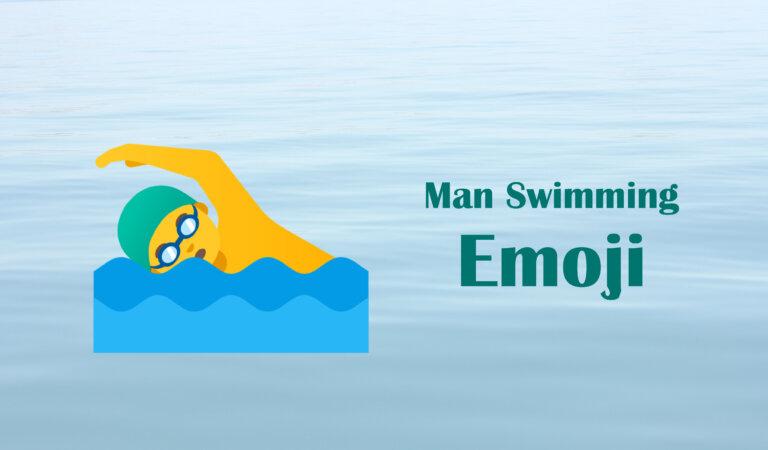 🏊♂️ Man Swimming Emoji