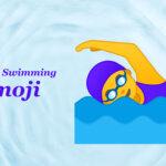 woman swimming emoji