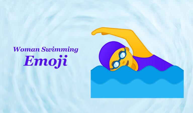 🏊♀️ Woman Swimming Emoji