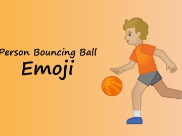 person throwing ball emoji