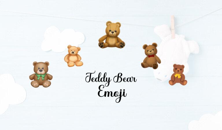 🧸 Teddy Bear Emoji
