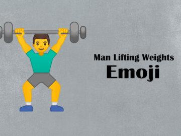 weight lifting symbol