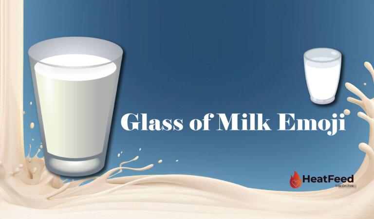 🥛Glass of Milk Emoji