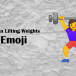 weight lifting emoji