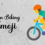 biking emoji