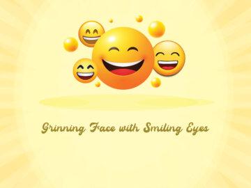 Grinning Face with Smiling Eyes Emoji