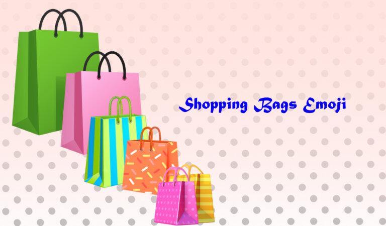 🛍️ Shopping Bags Emoji