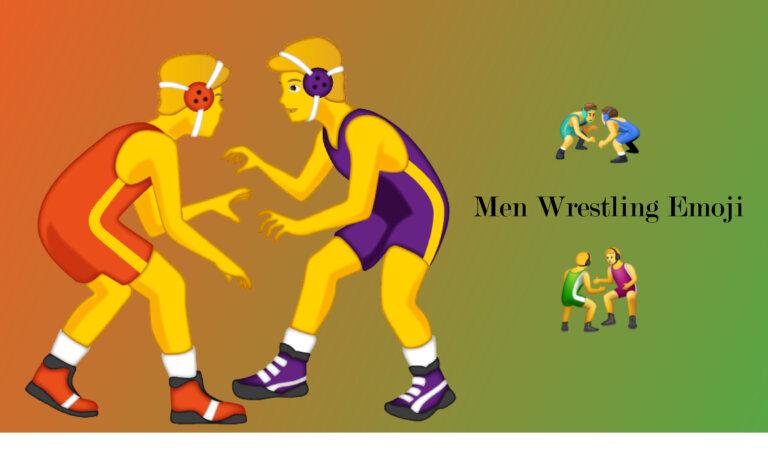 🤼♂️ Men Wrestling Emoji