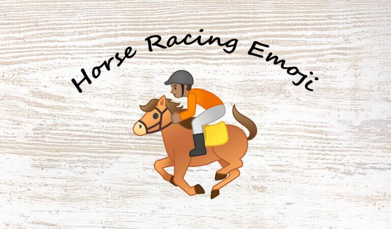 🏇 Horse Racing Emoji