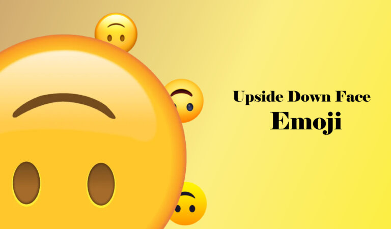 🙃 Upside-Down Face Emoji