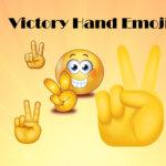 victory hand emoji