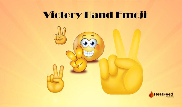 ✌️Victory Hand Emoji
