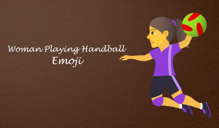 🤾♀️ Woman Playing Handball Emoji