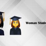 Woman Student Emoji