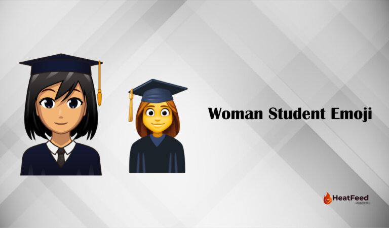 👩🎓 Woman Student Emoji